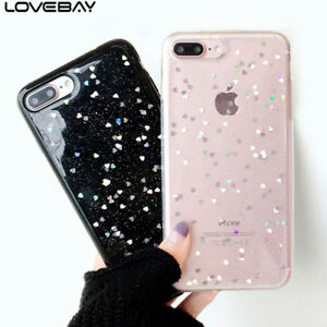 online store 5190e ce729 Details about For iPhone XS Max XR 6 7 8 5 SE Luxury Bling Star Case Clear  Silicone Soft Cover