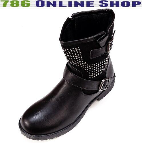 winterstiefel stiefel Schuhe Neu Damen Schuhe Boots winterschuhe 128B
