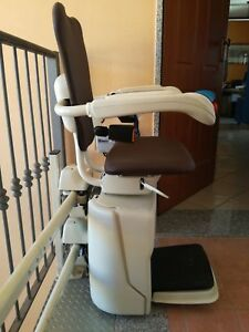 Montascale Per Anziani E Disabili A Poltroncina Vimec Usato 5