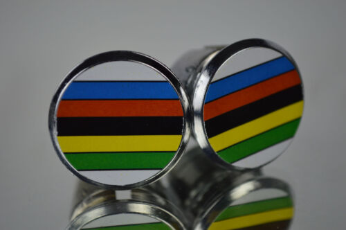 new World Champion Handlebar End Plugs Bar Caps vintage guidon bouchons calotte