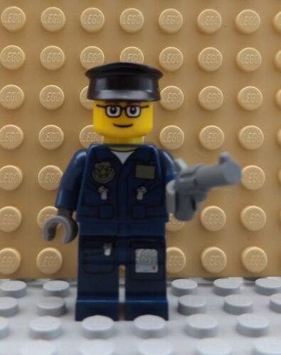 Nuevo LEGO 4 Mini Figuras 2 policías con armas y 2 Zombie Muerto Miedo City