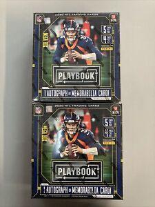BRAND NEW & SEALED - (2) 2020 Panini Playbook Football NFL MEGA Box Lot
