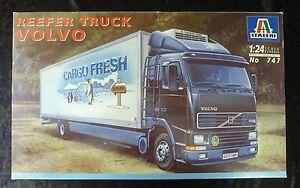 Italeri 747 Camion Réfrigéré Volvo à l'Échelle 1/24 cargo Fresh
