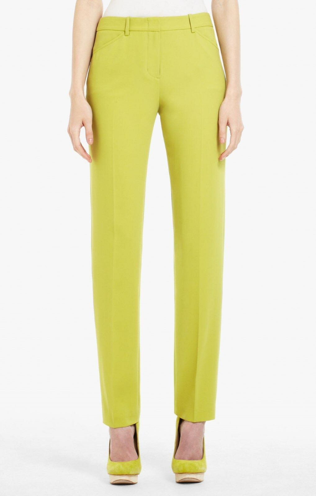 NEW BCBG MAX AZRIA DILL MONIQUE SLIM SRX2D279 AM41 PANT SIZE 0