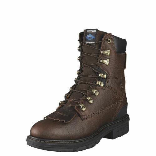 "Ariat 10002457 Hermosa XR 8/"" Western Roper Style Kiltie Non Slip Riding Boot"