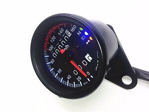 Cafe racer speedometer