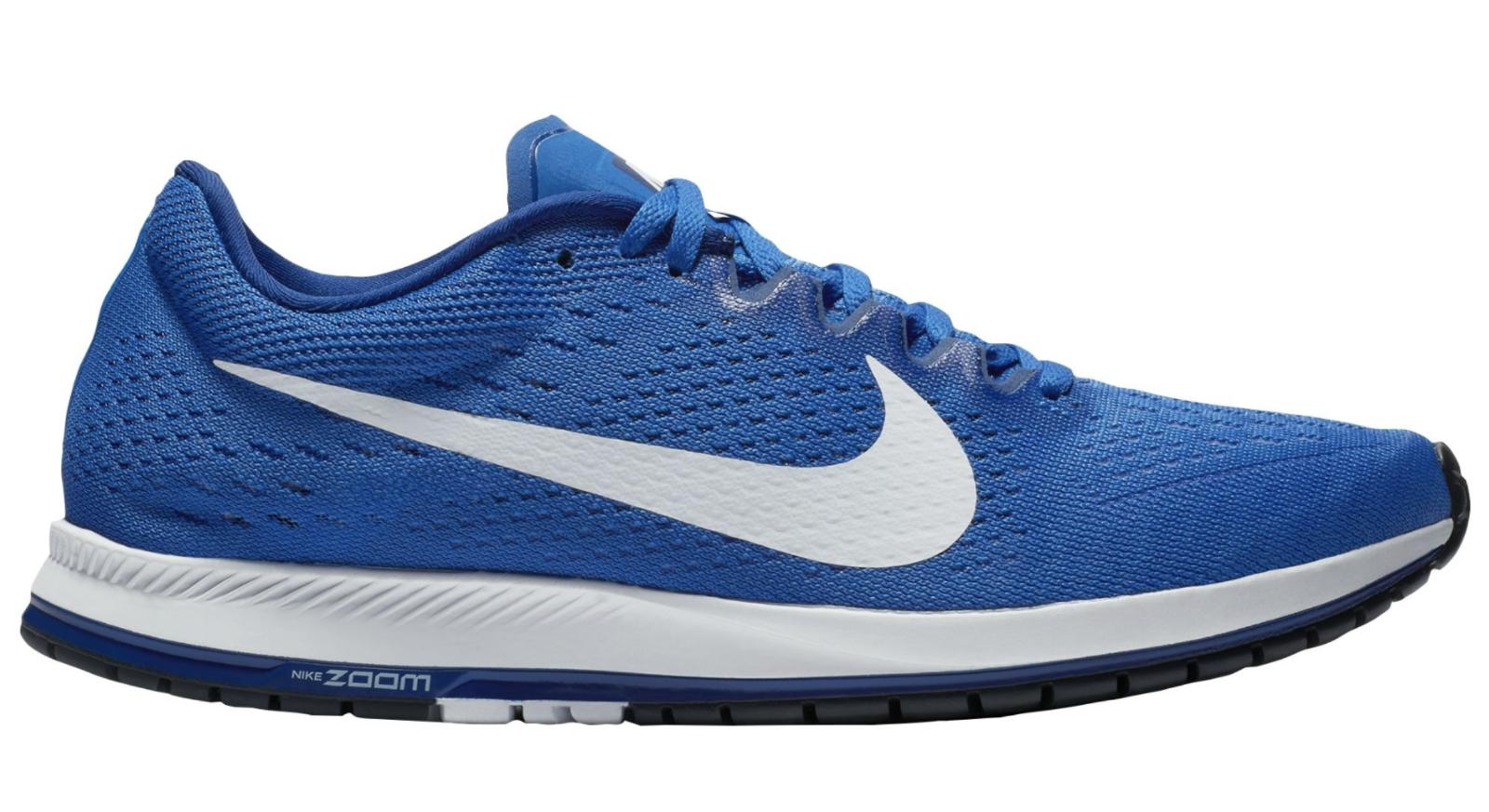 NUOVO Mens Nike Zoom Streak 6 831413 411 Scarpe correnti  Hyper Royal  bianca  Deep blu  servizio onesto