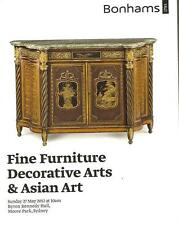 Bonhams Fine Furniture Decorative & Asian Art Sydney Auction Catalog May 2012