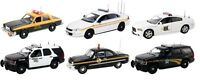 Set Of 6 Police Cars Release 2 In Cases 1/43 First Response Replicas Fr-43-r02