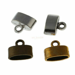 50Pcs Charms Jewelry Makings New End Cap Bead Stopper Fit 5.5mm Leather Cord