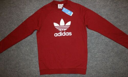 NEW MEN/'S ADIDAS ORIGINALS TREFOIL CREW SWEATSHIRT ~SIZE XL ~  #CX1897