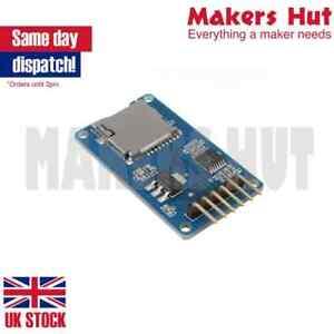 Micro Sd De Almacenamiento Board Tarjeta Tf Lector De Memoria módulo del Escudo Spi Para Arduino