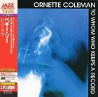 to Whom Keeps a Record 0081227960063 by Ornette Coleman CD