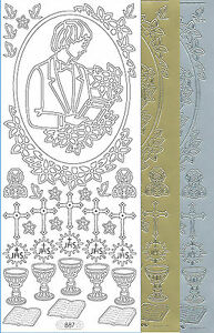 Starform Outline Stickers N° 935 Amour Mariage Auto-collants Peel Offs