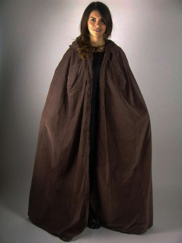 Details about  /Halloween Gift Medieval ADULT VELVET HOODED CLOAK KING QUEEN RENAISSANCE