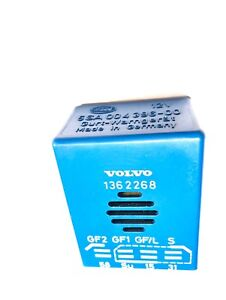 Details About Volvo Hella 740 760 940 960 Oem Safety Seat Belt Chime Reminder Relay 1362268 Oe