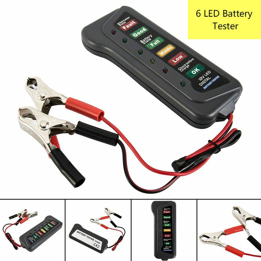 250 Volt AC DC Digital Display Pocket Clip  8B Neilsen Voltage Tester 12 Volt