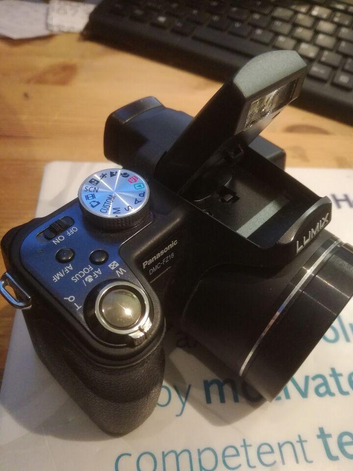 Digital foto, Lumix, DMC-FZ18
