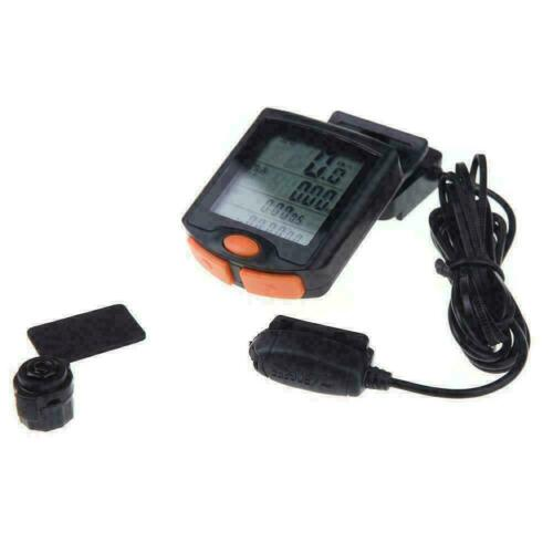 Wireless Bike Cycling Bicycle Cycle Computer Odometer Backligh Speedometer A2M2