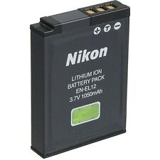2 NEW OEM NIKON Coolpix AW100 P300 S610 S620 S9900 Battery EN-EL12 1050mAh