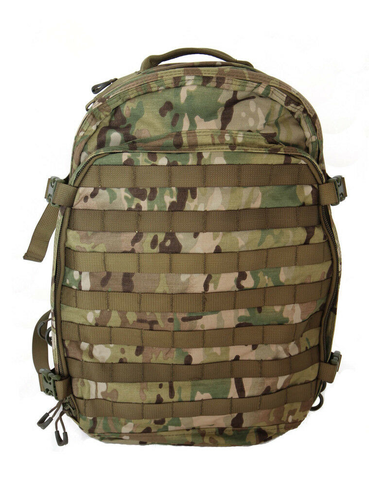 WISPORT ZIPPERFOX 40L MILITARY BACKPACK HIKING HYDRATION ARMY RUCKSACK A-TACS AU