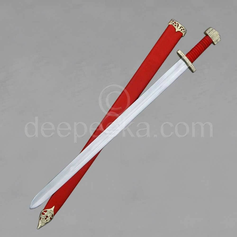 AH3305M- Viking Sword W Scabbard Modified