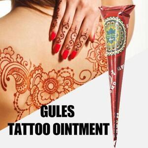 Diy Drawing Body Art Cosmetic Henna Painted Tattoo Art Temporary Tattoo Kit Ebay