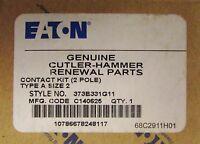 Eaton Cutler Hammer A200 Size 2 Contact Kit 2 Pole 373b331g11