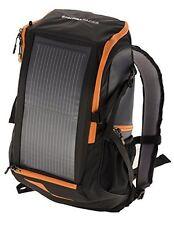 EnerPlex Backpack Solar Charger Panel Laptop Tablet Iphone Smartphone Orange