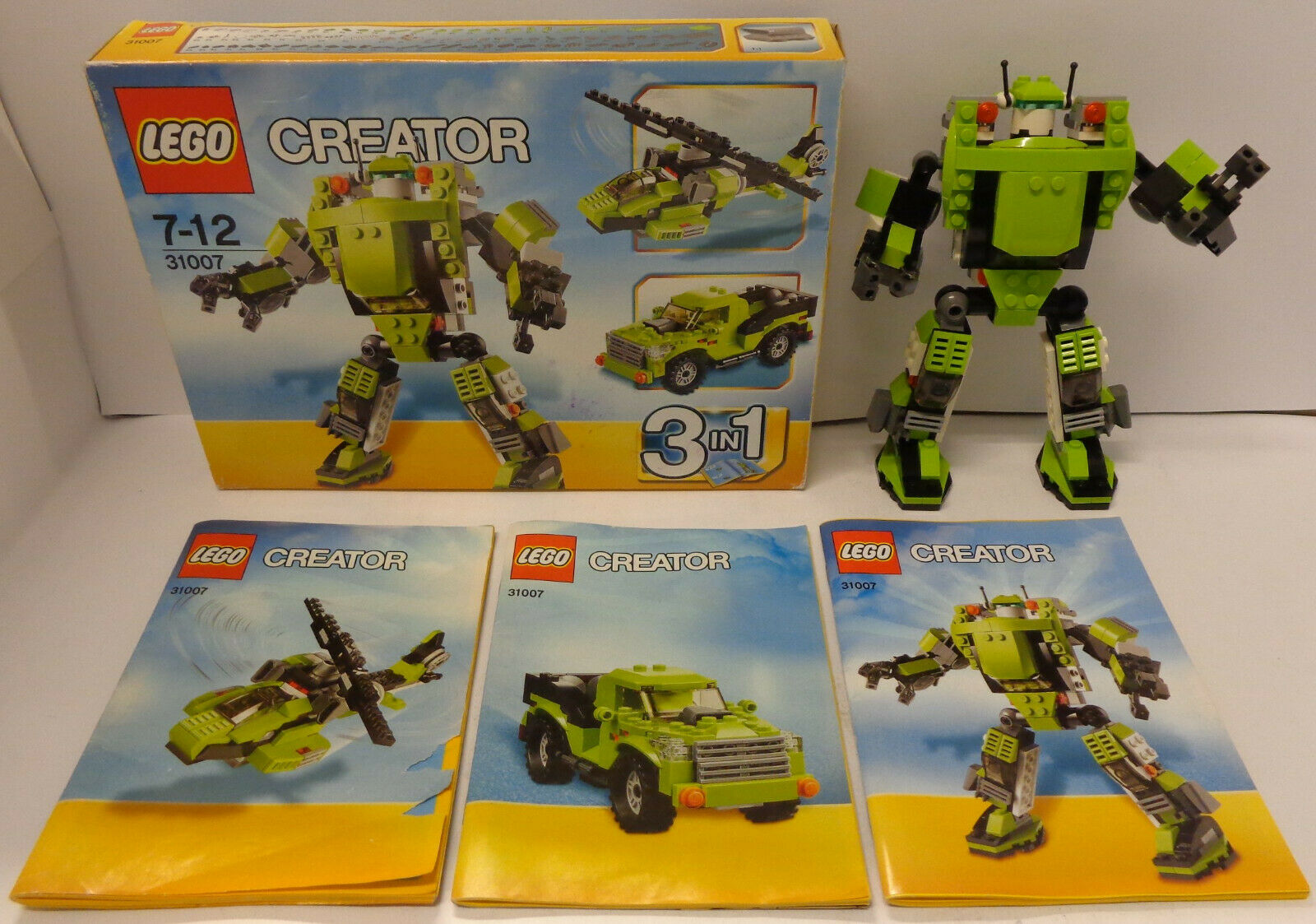 Gioco gioco Play LEGO Creator 2013 Set 31007 Robot 3 in 1 - energia Mech -
