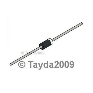 10 x 1N5404 Diode Rectifier 3A 400V - Free Shipping
