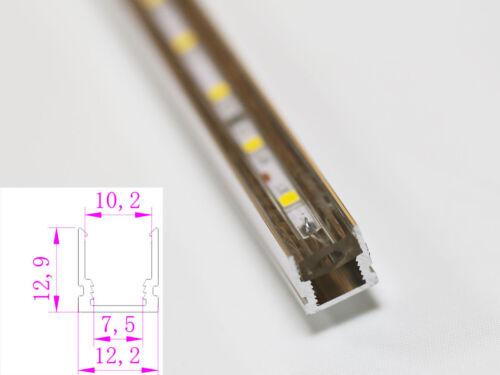 variateur 5-30m10mm Large Slim DEL Strip Bande Bandes Avec//Sans profilé
