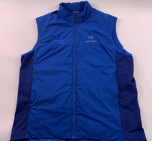 Arcteryx Atom Lt Vest Mens Size XXL Blue Insulated