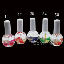 1 Bottle Nutritional Cuticle Oil Fresh Flavor Nail Art Soften Tool(Random Color)