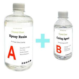 1kg-Crystal-Clear-Epoxy-Resin-General-Purpose-Low-Viscosity-UV-Resistant