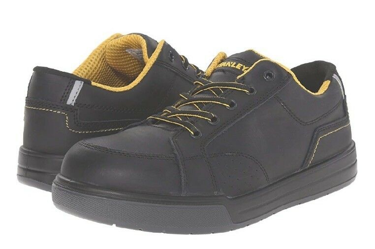 NEW Men's(CHOOSE SZ)Stanley LIMIT Leather Steel Toe shoes Slip & Shock Resist.