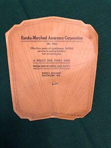 Vintage-Advertising-Eureka-Maryland-Assurance-Corporation-Card-Baltimore-MD-1937