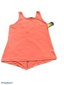 champion-c9-womens-v-neck-size-large-tank-top-ripe-papaya-nwt