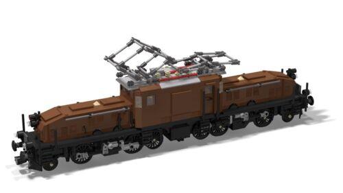 PDF-Anleitung SBB Ce 6//8 Schweizer Krokodil MOC Unikat zum Bau aus LEGO©-Steinen