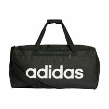 737ae30a15c33 Adidas Mens Unisex Gym Sports Football Duffel Kit Bag Holdall Travel Holiday