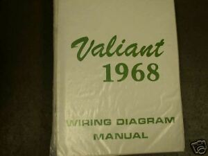1968 Plymouth Valiant Wiring Diagram Manual