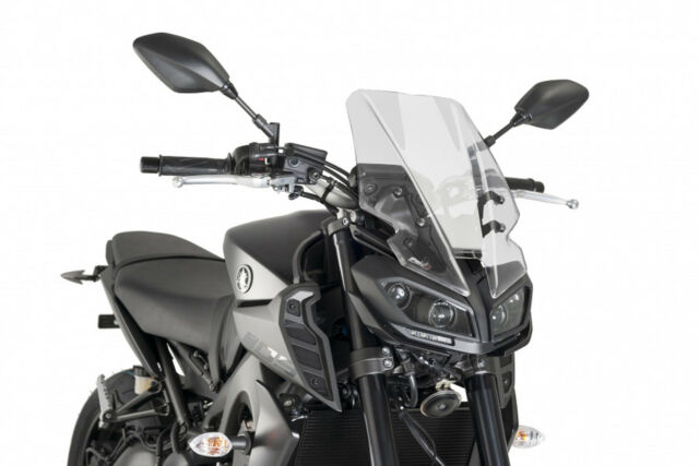 PUIG WINDSHIELD NAKED N.G. TOURING FOR YAMAHA MT-09 17-20 CLEAR