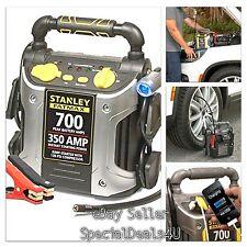Portable Car Charger Battery Jump Starter Air Compressor Power Bank Booster 700A
