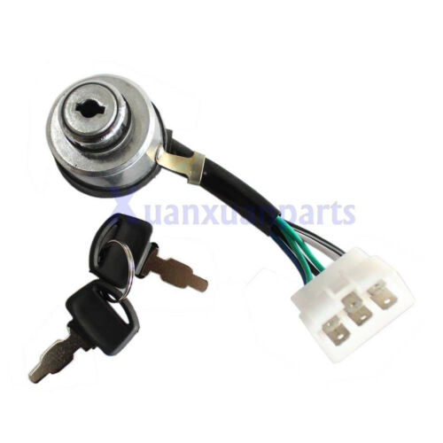Chinese Gasoline Portable Generator 6-Wire Ignition Key Combination Switch