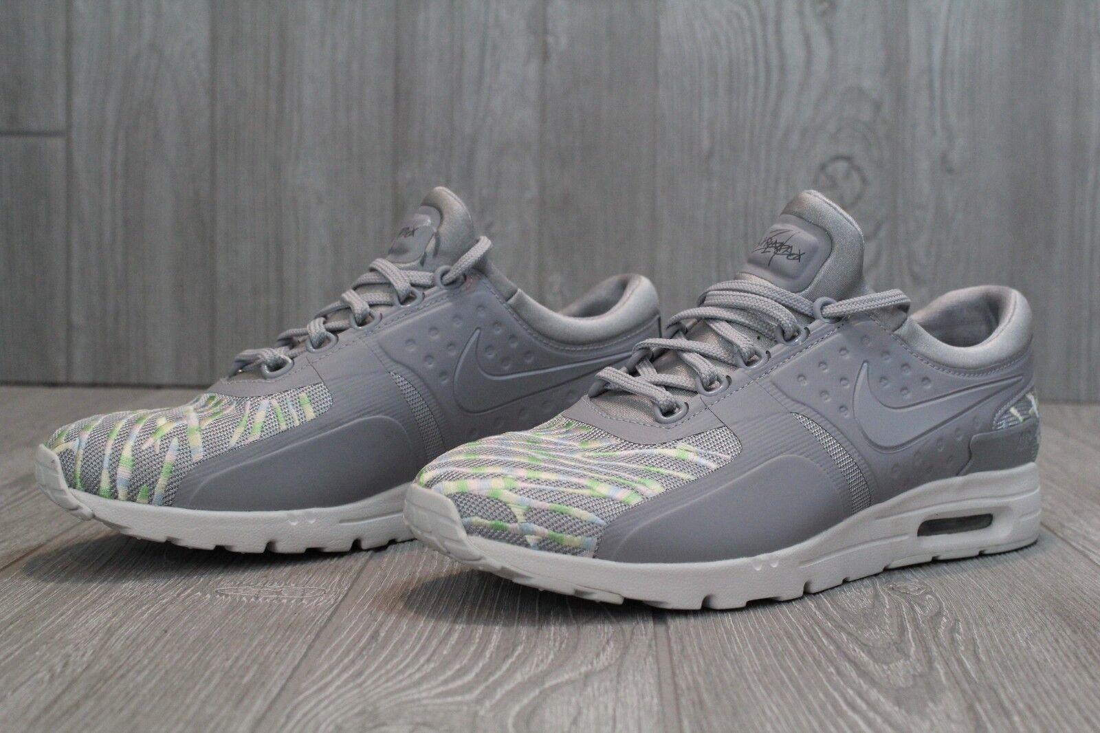 28 Zero RARE Nike Air Max Zero 28 Sample SE Grey Rainbow Shoes 896199 001 Size 9 0b339c