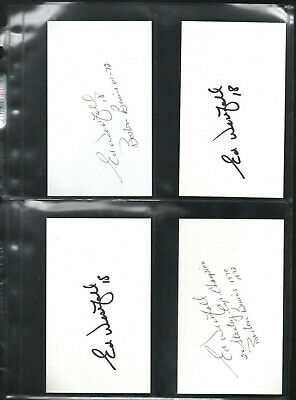 Ed Westfall Autograph/auto/hand-signed Index Card 3x5 Be Friendly In Use Generous 11