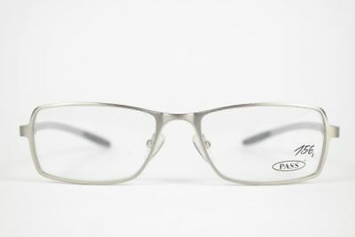 2019 Ultimo Disegno Vintage Pass P358-414 53 [] 17 140 Grigio Ovale Occhiali Montatura Eyeglasses Nos- Squisita (In) Esecuzione