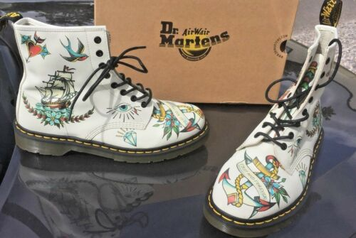 in Eu Stivali Uk Tattoo pelle 1460 Martens 47 Louie 11 Dr Pascal nOwARqYUnx