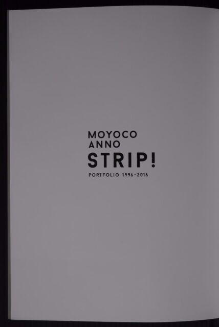 Portfolio 1996-2016 Sakuran,Sugar Sugar Rune JAPAN NEW Moyoko Anno Strip Book
