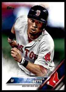 2016 Topps #84 Mookie Betts NICE LA Dodgers / Boston Red Sox